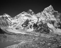 Changtse, Everest e Nuptse