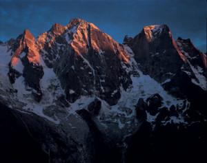 I versanti settentrionali del Badile e del Cengalo, Svizzera