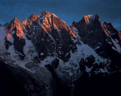 The North sides of Badile and Cengalo, Switzerland