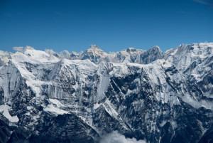 Il Manaslu e la Catena Himalayana dal Dhaulagiri, Nepal