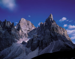 Cimon della Pala e Cima della Vezzana, Dolomiti, Italia