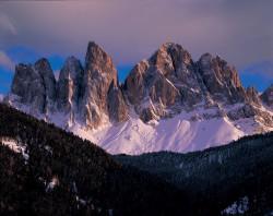 Odle, Dolomiti, Italia