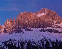 Catinaccio and Torri del Vajolet, Dolomites, Italy