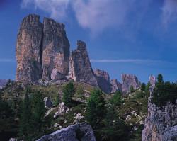Cinque Torri, Dolomiti, Italia