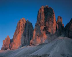 Tre Cime di Lavaredo, Dolomiti, Italia