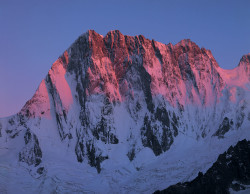 Grandes Jorasses, Mont Blanc mountain chain, France