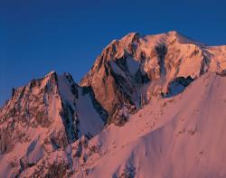 Mont Blanc, Brenva face, Aosta Valley, Italy