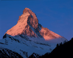 Matterhorn, North and East face, Switzerland