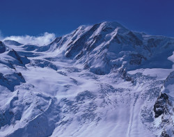 Lyskamm, North Face, Monte Rosa mountain chain, Switzerland