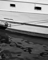 Barca da Pesca, Particolare, Rio del Ponte Longo, Isola della Giudecca, Venezia, Italia INFO