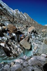Portatori sul Ghiacciaio Baltoro, Pakistan