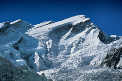 La parete Nord dell'Annapurna I (8.091 m), Nepal