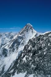 Il K2 (8.611 m) dal Broad Peak (8.047 m), Pakistan
