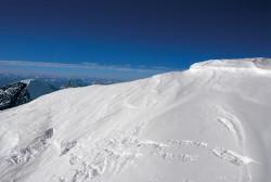 La vetta del Broad Peak (8.047 m)