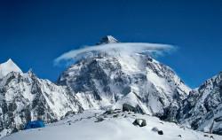 K2 (8.611 m), Pakistani side