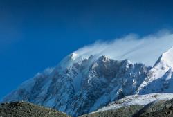 The South-West face of Shisha Pangma (8.013 m), Tibet