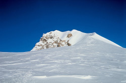 La cima dello Shisha Pangma (8.013 m), Tibet