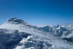 La vetta dello Shisha Pangma (8.013 m), Tibet