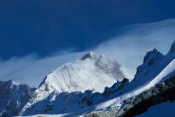 Storm on Punga-Ri (7.445 m), Tibet
