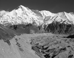 Cho Oyu e Ghiacciaio Ngozumpa, Himalaya, Nepal INFO