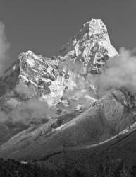 Ama Dablam e Monastero di Tengboche, Himalaya, Nepal INFO