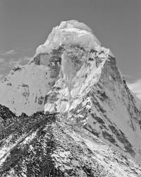 Ama Dablam, Parete Nord-Est, Dettaglio, Himalaya, Nepal INFO