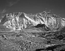 Lhotse e Nuptse, Panoramica, Himalaya, Nepal INFO