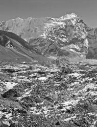 Cima Innominata e Imja Glacier, Himalaya, Nepal INFO