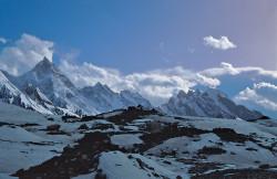 Ghiacciaio Baltoro e Masherbrum (7.821 m), Pakistan