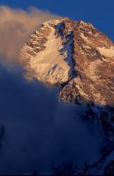 Piramide sommitale del K2 (8.611 m), versante cinese