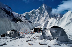 K2 (8.611 m) from the North Base Camp, China