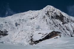 The North Peak of Manaslu, also known as Manaslu North (7.157 m), Nepal