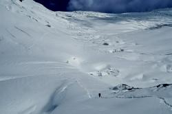 Salita verso il Nike Col (5.500 m) al Manaslu (8.163 m), Nepal