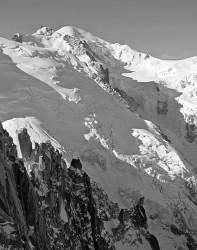 Monte Bianco dall'Aiguille du Midi, FranciaINFO