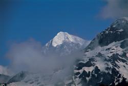 Il Makalu (8.463 m), dai pressi dello Shipton-La, Nepal