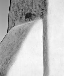 Chiesa di San Francesco d'Assisi, Ranchos de Taos, Particolare, New Mexico, U.S.A.INFO