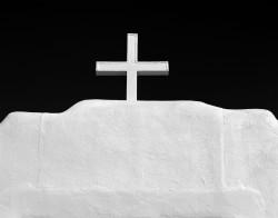 Croce, Chiesa di St. Jerome, Taos Pueblo, New Mexico. U.S.A. INFO