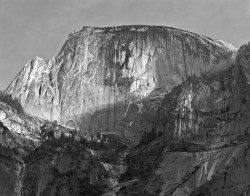 Half Dome, Parete Sud-Ovest, Yosemite National Park, California, U.S.A.