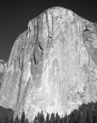 El Capitan, Mattino, Verticale, Yosemite National Park, California, U.S.A.