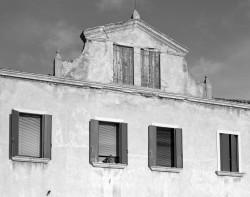 Facciata di una Casa, Sestiere di Castello, Venezia, Italia INFO