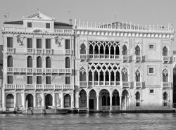 Cà d'Oro e Canal Grande, Venezia, ItaliaINFO