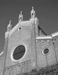 Chiesa dei SS. Giovanni e Paolo, Facciata, Venezia, Italia INFO
