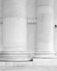 Particolare delle Colonne, Chiesa del Redentore, Isola della Giudecca, Venezia, Italia INFO