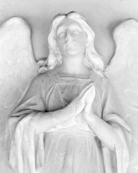 Angelo di Marmo, Cimitero di San Michele, Venezia, Italia INFO