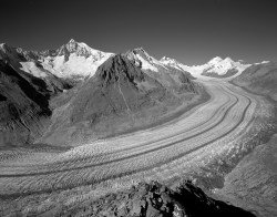 Ghiacciaio Aletsch, Autunno, Svizzera INFO