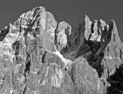 Cima dei Bureloni, Tramonto Autunnale, Dolomiti, Italia INFO