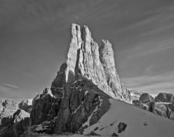 Torri del Vajolet, Orizzontale, Dolomiti, Italia INFO
