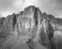 Marmolada, Versante Meridionale da Passo Ombretta, Dolomiti, Italia INFO
