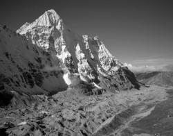 Wedge Peak, Panoramica, Kangchenjunga Himal, Himalaya, Nepal INFO