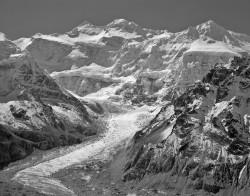 Kangchenjunga, Parete Nord, Mattino, Himalaya, Nepal INFO
